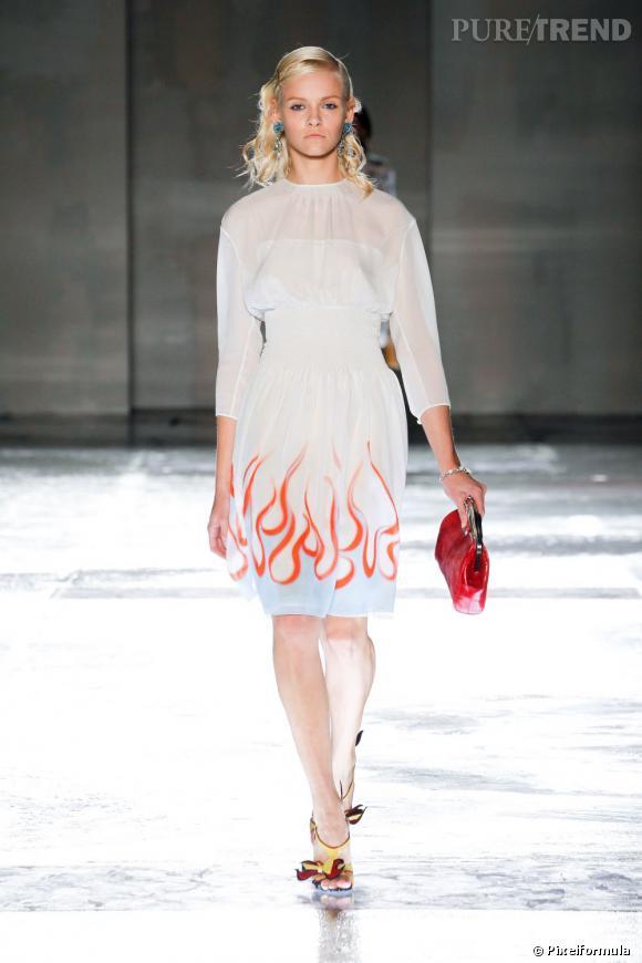 Comme sur les podiums : adoptez le style Prada Printemps-Eté 2012