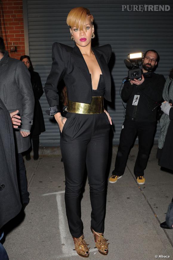Rihanna est une adepte de la maison française sur laquelle elle mise dès 2009.