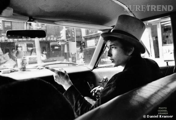 Bob Dylan, le premier artiste vivant muséifié à la Cité de la Musique.
