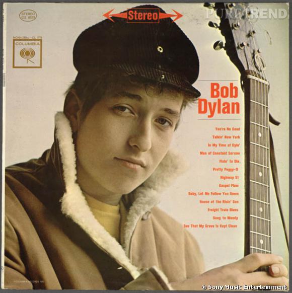 1962, Bob Dylan signe son premier album, le premier d'une série de 7 opus en 5 ans.