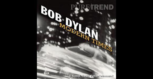 """En 2006, Bob Dylan signe """"Modern Time"""" sacré meilleur album de l'année par Rolling Stone."""
