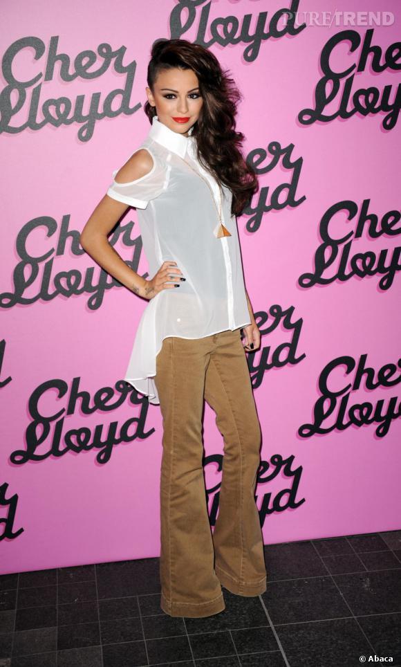 Cher Lloyd, la demoiselle de 18 ans qui a pris d'assaut les charts anglais.