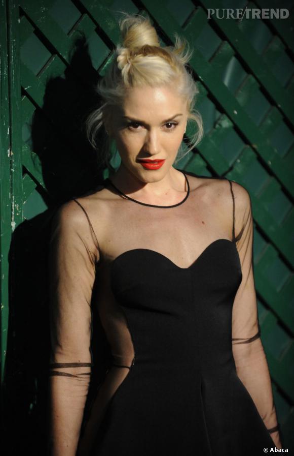 Gwen Stefani à la boutique Stella McCartney à Los Angeles.