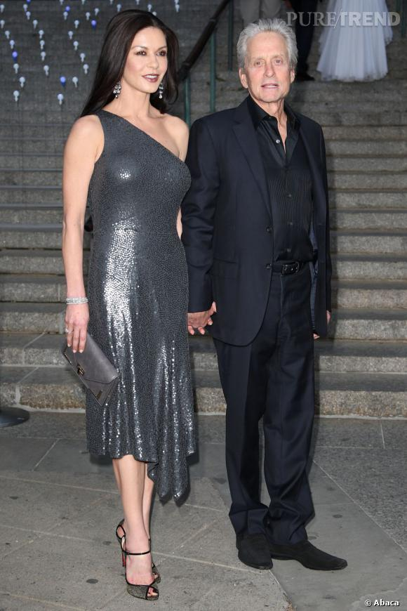 Catherine Zeta-Jones et Michael Douglas.