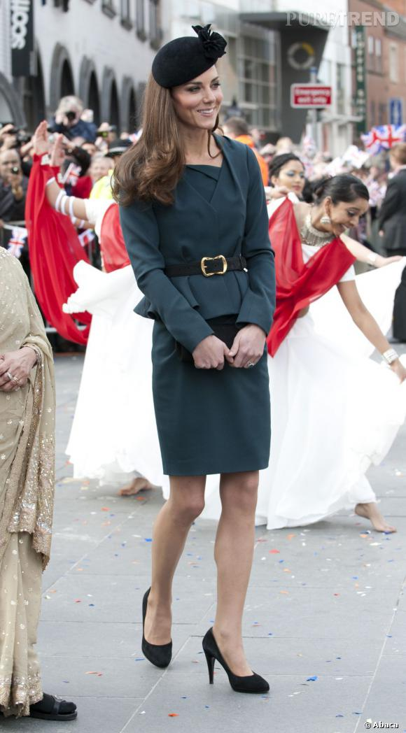 Kate Middleton duchesse mode.