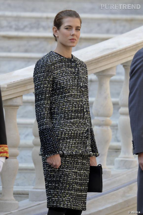 Charlotte Casiraghi sublime en look bourgeois.