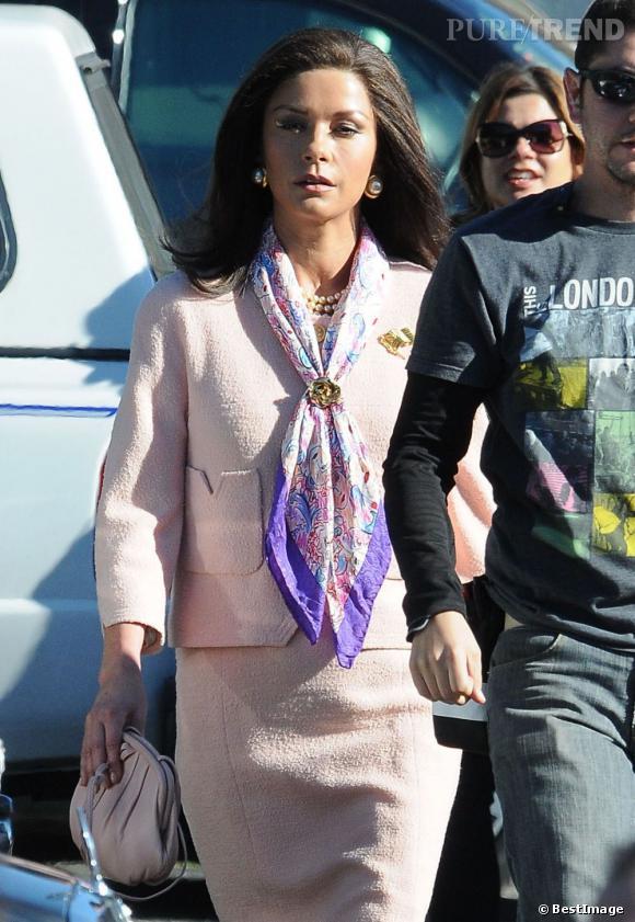 Catherine Zeta-Jones en mode Grace kelly.