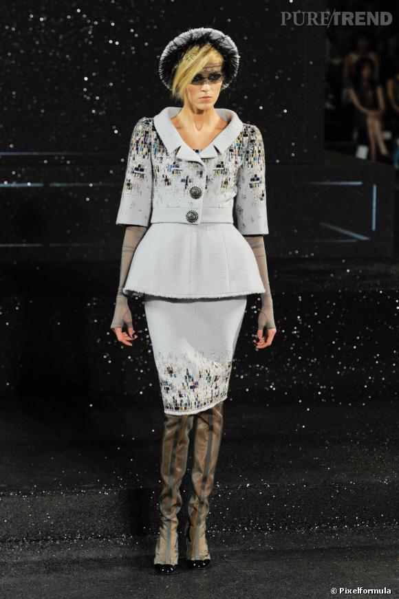 Défilé Chanel Haute Couture Automne-Hiver 2011/2012.
