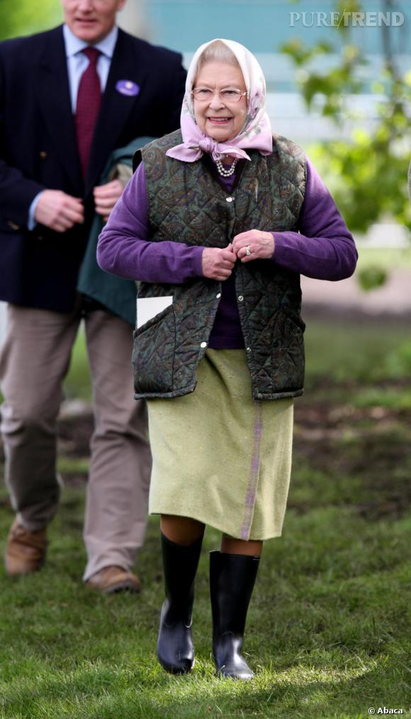 La Reine d'Angleterre version vamp.