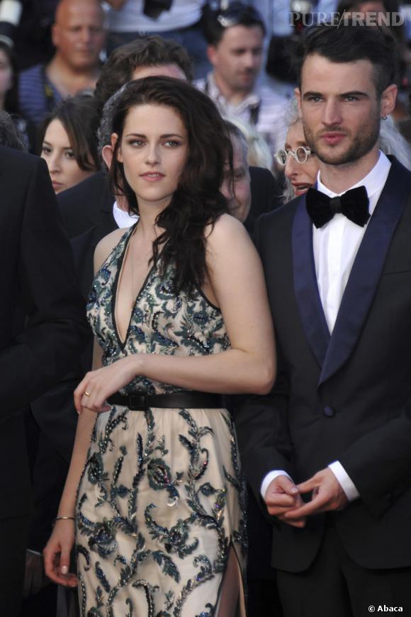 """Kristen Stewart à la première de """"Sur la Route"""" au Festival de Cannes."""