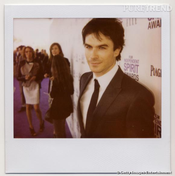 "Ian Somerhalder au ""Film Independent Spirit Awards 2012"", le 25 février 2012, photographié par Jeremy Kost"