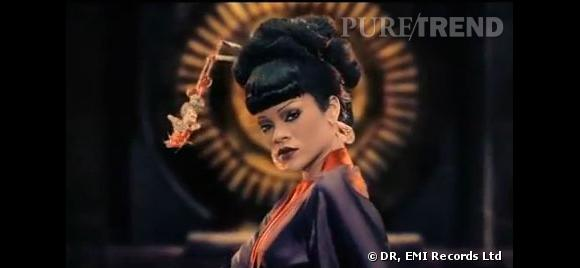 """Rihanna joue une princesse chinoise dans le dernier clip de Coldplay """"Princess of China"""""""