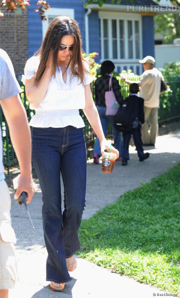 Mila Kunis a pris quelques kilos pour son rôle dans le film.