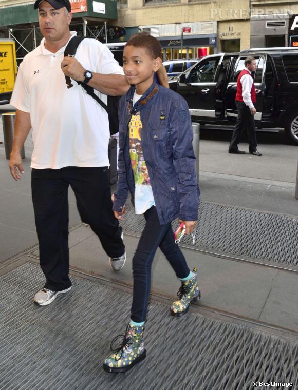 Willow Smith devant son hôtel à New-York le 7 juin.