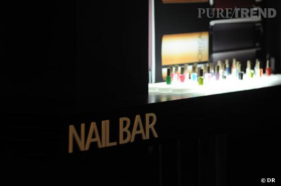 Le Nail Bar L'Oréal Paris à l'hôtel Martinez à Cannes.