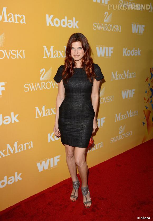 Lake Bell lors de la soirée des Women in film Crystal + Lucy Awards à Los Angeles.