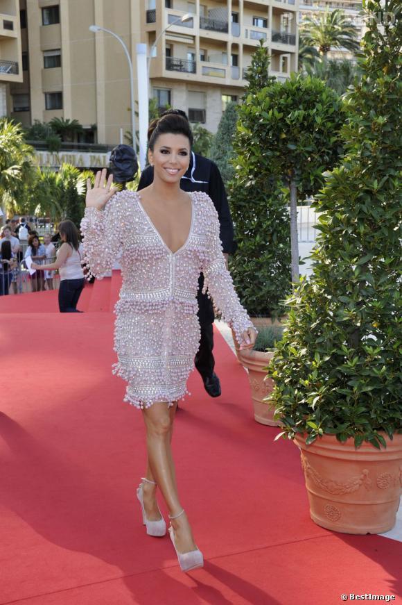 Eva Longoria au 52e Festival de la télévision de Monte-Carlo le 13 juin.