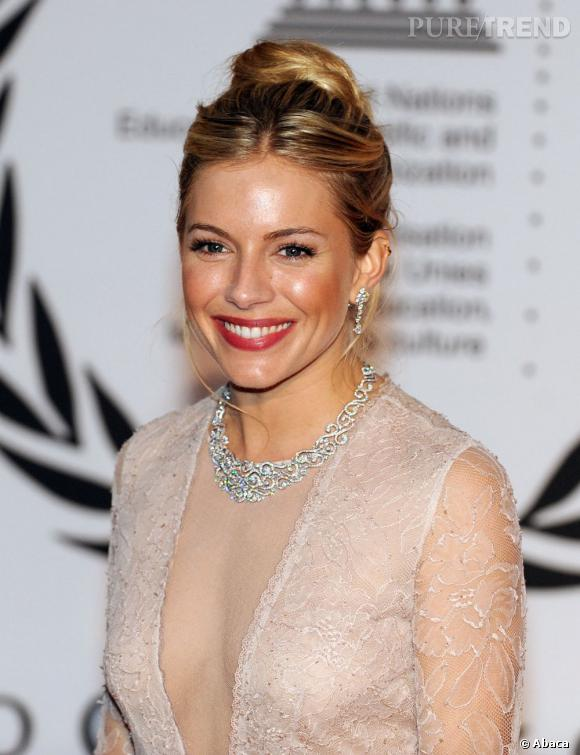 Sienna Miller, le sourire extra-large.