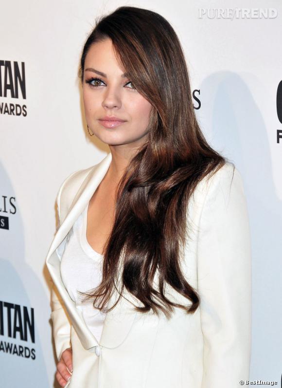 Mila Kunis, la jolie bouche ronde.