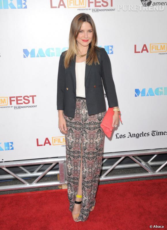 """Sophia Bush à l'avant-première de """"Magic Mike"""" à Los Angeles."""