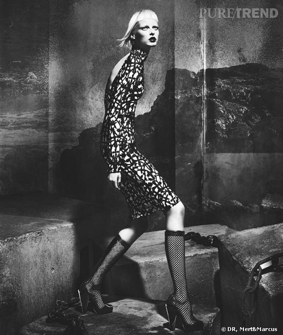 Campagne Versace, Automne-Hiver 2012/2013.