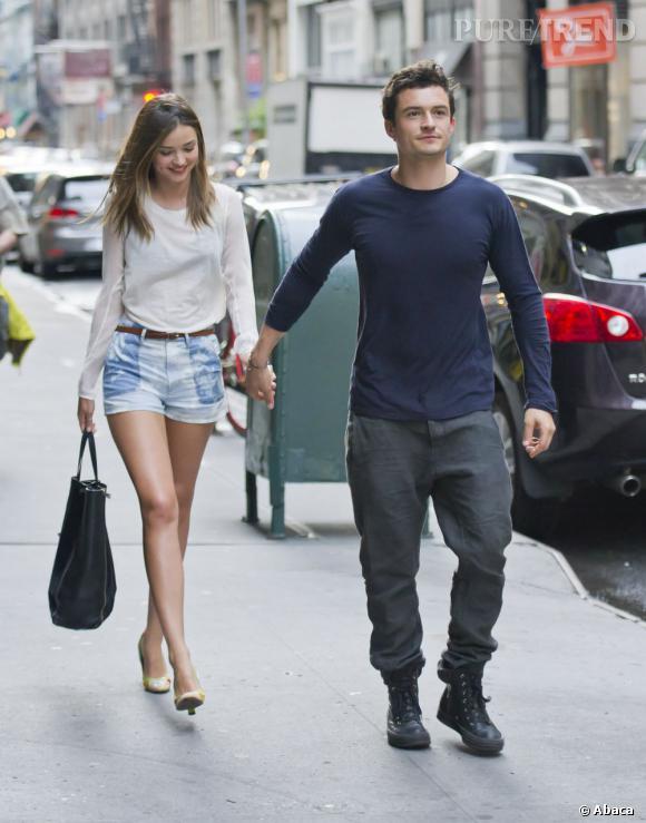 Miranda Kerr et Orlando Bloom forment un couple adorable