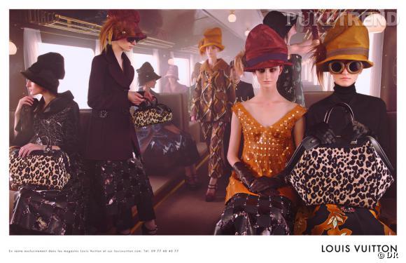 Campagne Louis Vuitton, Automne-Hiver 2012/2013.