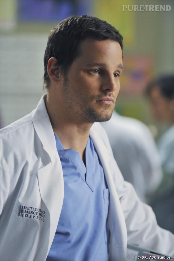 """A l'écran :  Alex Karev, le médecin tête brûlée et arrogant de """"Grey's Anatomy""""."""