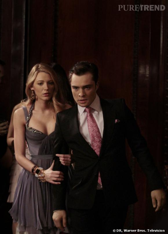 """A l'écran :  Chuck Bass, le machiavélique et manipulateur golden boy de """"Gossip Girl""""."""