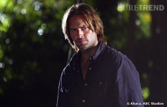 """A l'écran :  Sawyer, le méchant au grand coeur qui chasse ses démons sur l'île perdue de """"Lost""""."""