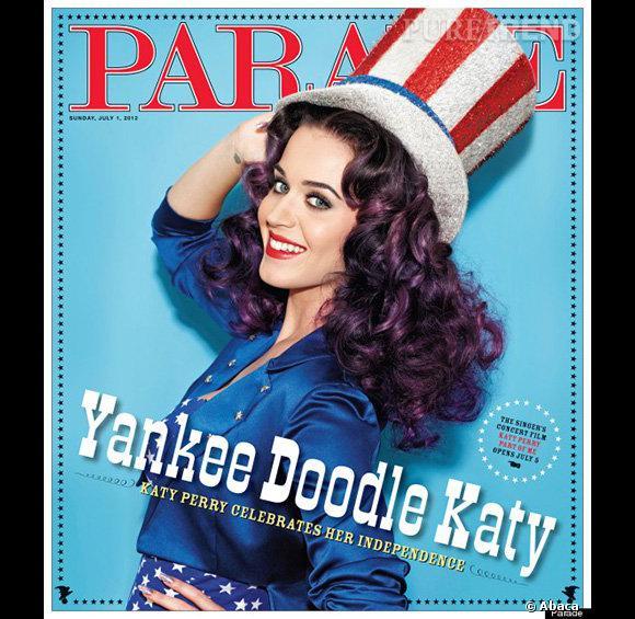 Katy Perry pour le magazine Parade.