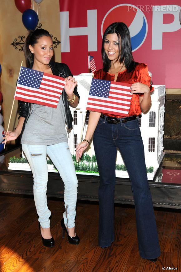 Kourtney Kardashian et Adrienne Bailon, des filles made in USA.