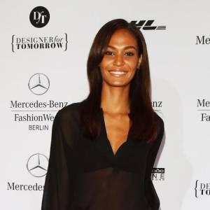 Joan Smalls lors de la Fashion Week Mercedes-Benz à Berlin.