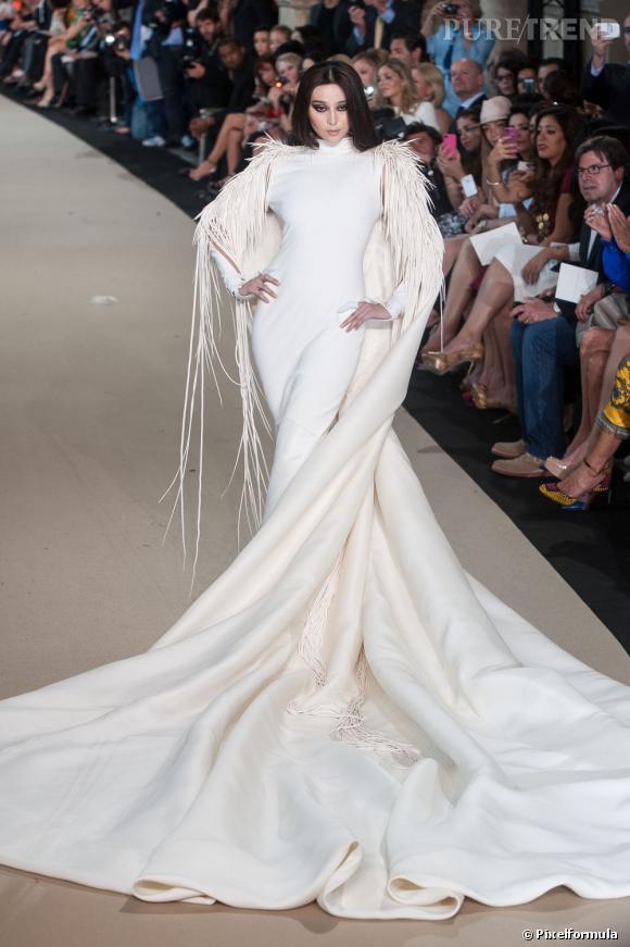 Robe de mariée Haute Couture Stéphane Rolland Défilé Automne,Hiver 2012/2012