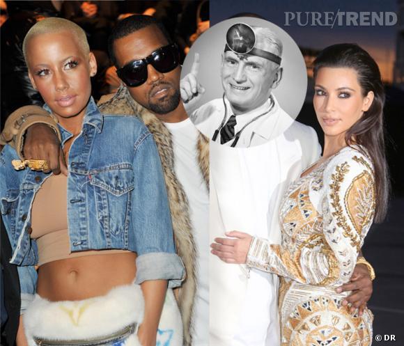De Amber Rose à Kim Kardashian, Kanye est passé d'une diva trash à une Barbie à habiller. Moins fatigant !