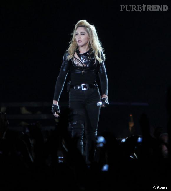 Madonna a assuré le show devant un public conquis