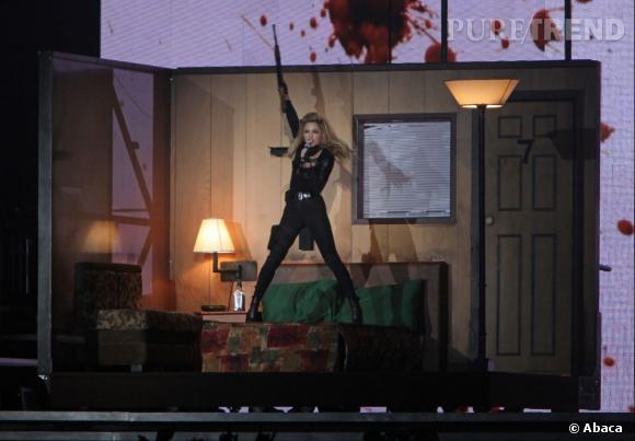 Madonna a exploité à fond le thème de la prise de la Bastille, en parlant de défendre la liberté d'autrui