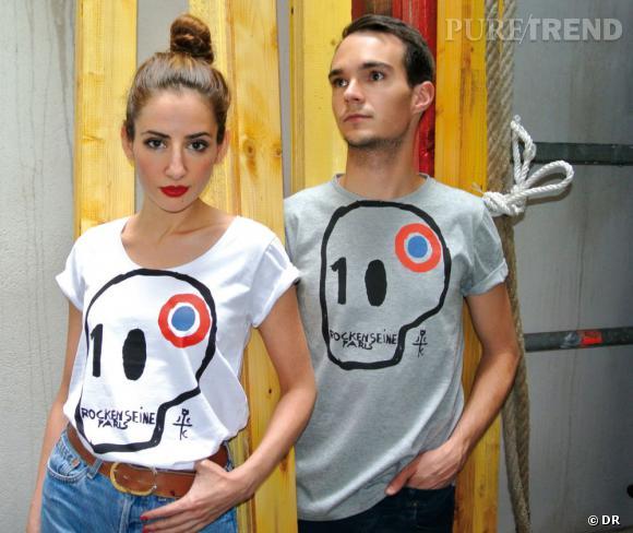 T-shirts Jean-Charles de Castelbajac pour Rock en Seine.