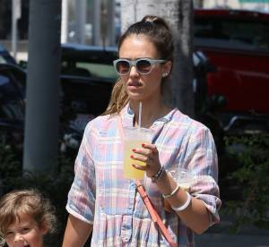 Jessica Alba, maman branchée... A shopper !