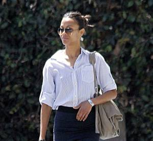 Zoe Saldana : working-girl estivale dans les rues de L.A.