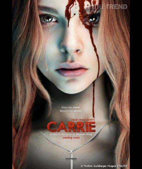 "Avec ""Carrie"", nouvelle adapation du roman de Stephen King, Chloë Moretz renoue avec son registre de prédilection."
