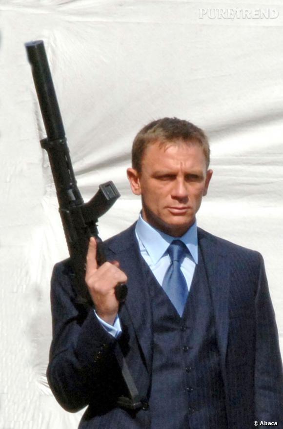 Daniel Craig, l'interprète de James Bond, succombera-t-il au parfum James Bond 007 ?