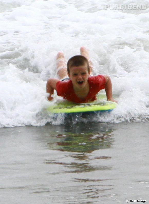 Qui ?  Cruz Beckham.   Catégorie ?  Surf, idéal pour draguer.