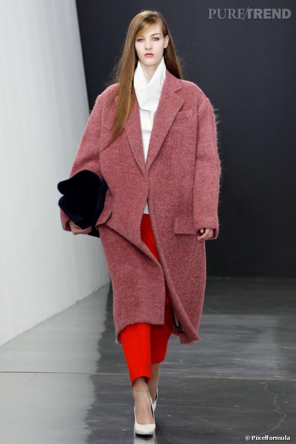 Un manteau oversize Toutes les filles à la mode rêvent d\u0027un manteau Celine  ou Balenciaga. Pourquoi ? Pour ses proportions oversize idéales,