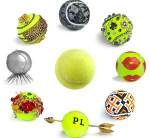 Vogue customise les balles de tennis de l'Us Open