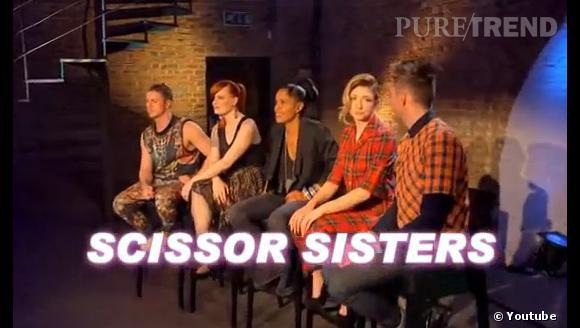 Le groupe Scissor Sisters jouera les juges pour un épisode