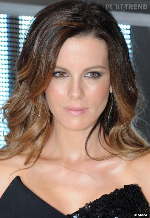 Lombré hair de Kate Beckinsale On pensait que la tendance ombré hair sétait essouflée, que nenni ! Kate Beckinsale larbore dans une version plutôt