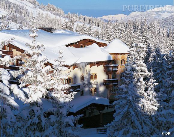 Au milieu des Alpes enneigées se tient l'Hôtel Les Airelles, à Courchevel, et son spa Cellcosmet.