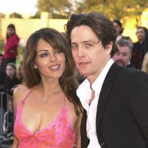 Hugh Grant et son ex Elizabeth Hurley.