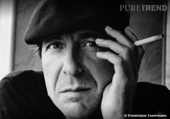 """Portrait de Leonard Cohen extrait de la vidéo """"Moments of"""" de Dominique Issermann"""